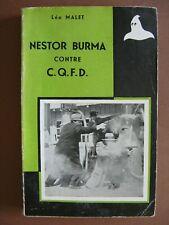 NESTOR BURMA CONTRE C.Q.F.D.