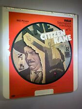 Citizen Kane CED VideoDisc SelectaVision 1981 *Good condition*