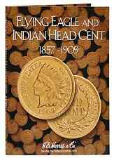 H E HARRIS #2671 Coin Folder Flying Eagle & Indian Head Cents 1857-1909