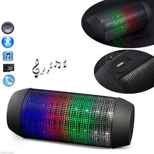 Gehäuse Bluetooth Lautsprecher Fm Tf USB Aux Freisprecheinrichtung PULSE LED 6W