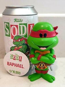 Funko Vinyl Soda Raphael Common 1/10,500 Teenage Mutant Ninja Turtles