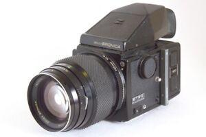 Zenza Bronica Etrs Kit Mit Zenzanon Mc 150mm F4 Rückenlänge 120 Und Sucher Prism