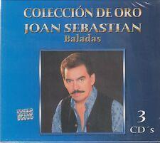 3 Discs - Joan Sebastian Baladas CD Coleccion De Oro BRAND NEW