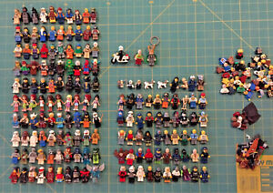 Lego Figurine LOT of 160 plus extras Star Wars The Simpsons Harry Potter