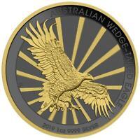 Australia 2019 1$ - Wedge-Tailed Eagle - 1 Oz Silbermünze