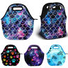 Thermal Insulated Neoprene Tote Lunch Bag Handbag for School Work Picnic Camping