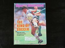 Sports Illustrated 7-7-86 Diego Maradona (S1) Argentina World Cup