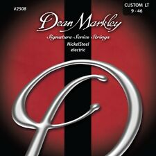 Dean Markley 2508 NickelSteel Electric Guitar Strings, Custom Light (9-46)