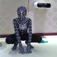 Venom Black Spiderman Cosplay Costume Suit Jumpsuit Kids Men Boys Fancy Dress US