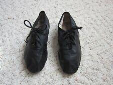 Dance Ballet Jazz Kids Shoes Black Leather size 13.5 Children