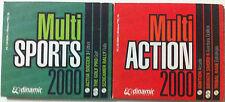 JUEGOS PC MULTI SPORTS 2000 ARCADE 6 CDS ACTUA SOCCER , RALLY ,ETC
