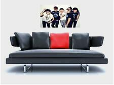 "BIG BANG BORDERLESS MOSAIC TILE WALL POSTER 35"" x 25"" K-POP EXO KPOP K POP"