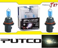 Putco 3800K Iron White 9007 HB5 239007SW 65/55W Headlight Two Bulbs Plug Play OE