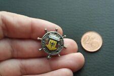 DEUTSCHLAND Seefahrt Schifffahrt Steuerrad selten Pin Badge Anstecknadel