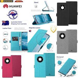 Huawei Shockproof TPU + PU Leather Magnetic Buckle Horizontal Flip Case & Wallet
