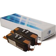 Lot de 2 batteries 14.4V 4400mAh pour iRobot Roomba 580 - Société Française -