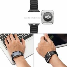 Butterfly Link Bracelet Stainless Steel Band Strap For Apple Watch series 4 3 2