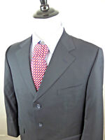 42R Brooks Brothers Men's Pinstripe Black White Sport Coat Blazer Jacket Wool
