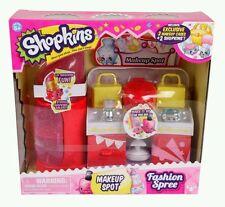 Shopkins New Adorable Makeup Spot Fashion Spree Playset. Great Gift Item !