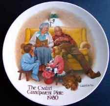 "The Csatari Grandparent Plate 1980, ""The Bedtime Story"""