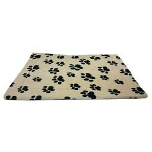 Thermo Pet Mat for Dogs Cats & Pets Warmth Soft Fleece Finish Non Slip Backing