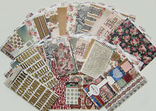 New! Bo Bunny [LOVE & LACE]  VINTAGE  Paper & Embellishment Set  [Save 50%]