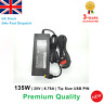 135W For Lenovo Yoga 720-15 Y520-15 Laptop AC Adapter Battery Charger PSU