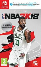 "Juego Nintendo switch ""NBA 2k18"""