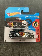 Hot Wheels Bone Shaker Forza Black Short Card VHTF