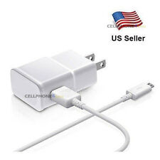 For Samsung Galaxy S2 S3 S4 Wall AC DC Adapter+USB Charger