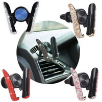 Car Phone Holder Stand Center Air Console outlet Clip For Phone GPS 5 Colors