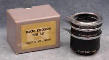 BESELER TOPCON MACRO EXTENSION TUBE SET - FREE USA SHIPPING