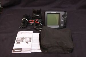 Used Humminbird 717 GPS Ready Fishing System Fish Finder w/ Base
