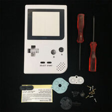 GBP Nintendo Game Boy Pocket Replacement Housing Shell Screen White USA!