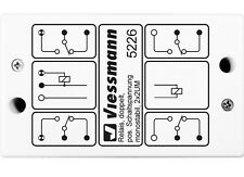 Viessmann 5226 Relais, monostabil, 2 x 2UM, positiver Schaltimpuls