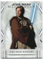 2018 Star Wars Masterwork Short Print SP 105 Obi-Wan Kenobi