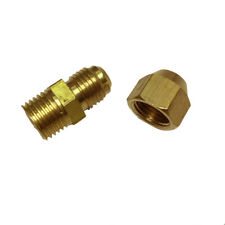 """6mm  1/4"""" Male Adapter  Water Pipe Connector Thread Fittings Tube with Flaring"""