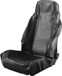 Dresselhaus Universal Kunstleder Sitzbezug Sitzschoner Werkstattschoner schwarz