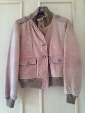 Tan Leather Jacket From Next Size 12