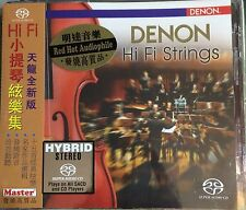 Denon Hi Fi Strings Hybrid SACD CD NEW Germany