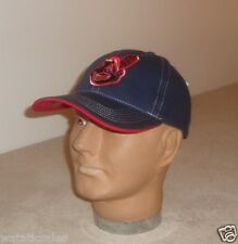 Cleveland Indians Blue Structured Stitched Baseball Hat New Limited Ed Cap