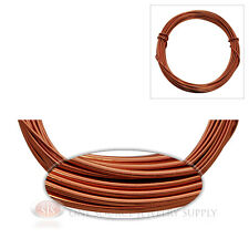 Rose Gold Aluminum Craft Wire Wrapping 12 Gauge Sculpture 39 Ft. Floral Jewelry