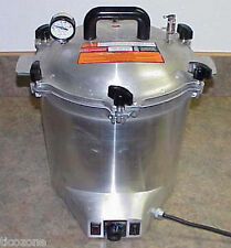 ALL-AMERICAN 75X-240v Electric Autoclave Sterilizer-New-Gross Capacity 41 Qt