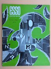 Magazine d'entreprise ESSO PANORAMA n°65 Février Mars 1969 Pétrole Oil Industry