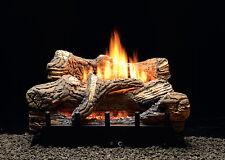 """White Mountain Hearth 18"""" Flint Hill Log Set, Manual Burner, Ng"""