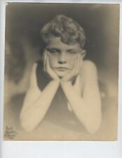 LEON JANNEY Child Actor Our Gang 1920's Leon Janney  RARE Young Portrait Photo j