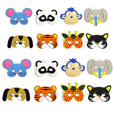 10x Childrens New Foam Animal Masks All Occasions Birthday Party Bag Filler Toys