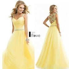Women Sexy Formal Long Chiffon Prom Evening Party Bridesmaid Wedding Maxi Dress