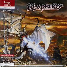 RHAPSODY-POWER OF THE DRAGONFLAME-JAPAN MINI LP SHM-CD F83