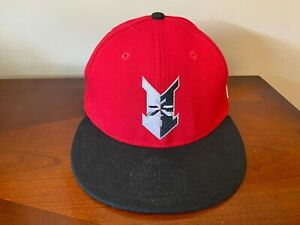 Vtg 90s New Era Indianapolis Indians MiLB Fitted Wool Hat Baseball Cap 7 1/8